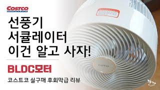 선풍기 서큘레이터 구매 꿀팁 추천?BLDC모터(코스트코…