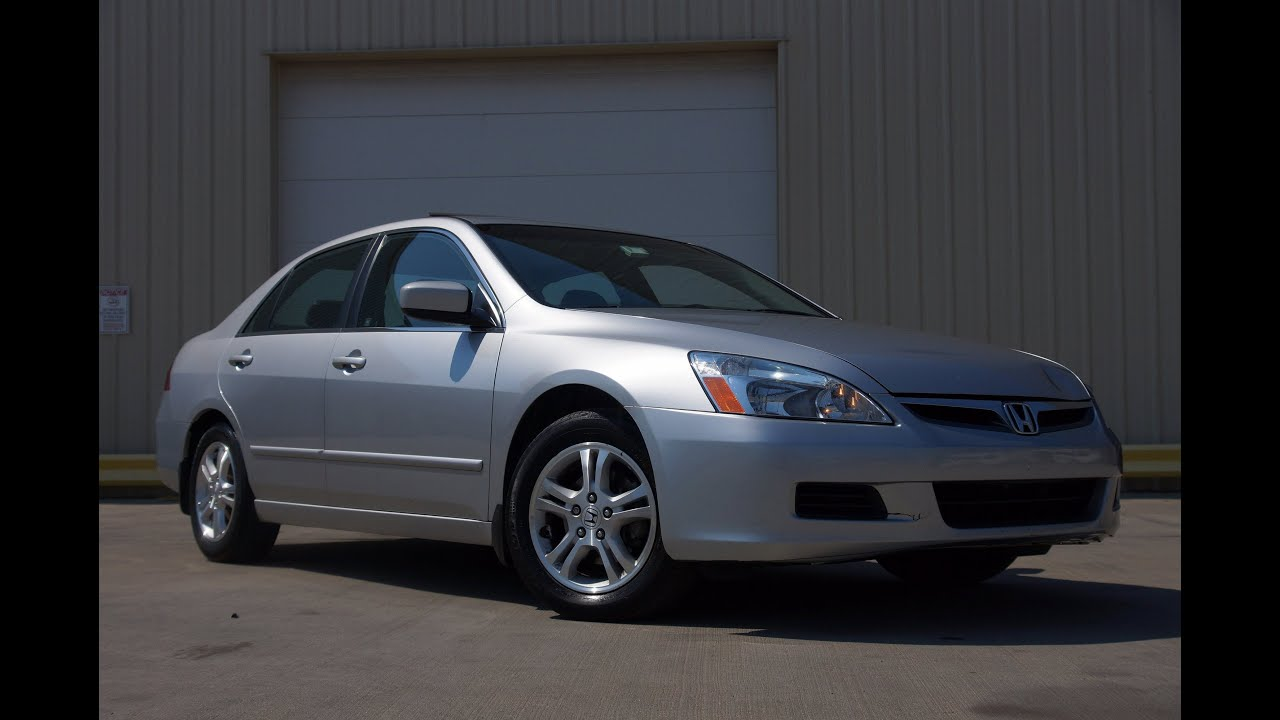 Captivating 2007 Honda Accord EX L 2.4 VTEC Sedan
