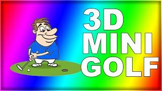 MAKING EACH OTHER FINISH! | 3D ULTRA MINIGOLF!