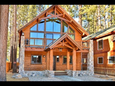 Famous Cabin Video Tour  Luxury Home In South Lake Tahoe