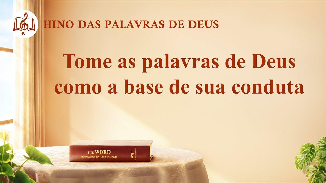 Tome as palavras de Deus como a base de sua conduta