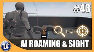 Einstellung der AI-Roaming & Destinationen - #43 Unreal Engine 4 Anfänger-Tutorial-Reihe