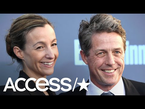 Hugh Grant Is A Married Man For The First Time At 57  Access