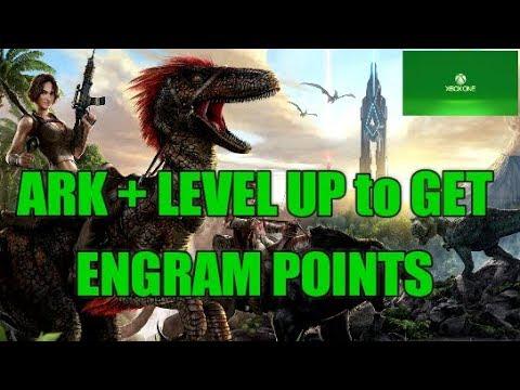 ARK LEVEL UP + ENGRAM POINTS XBOX 1