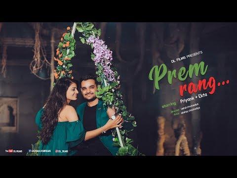 Mere naam tu... | Pre wedding video song 2019 | Priyank & Ekta | Surat | DL Films