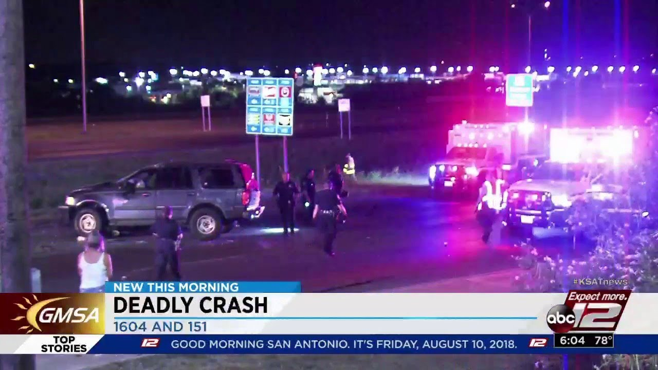1 dead in vehicle crash near Loop 1604 and Highway 151, police say