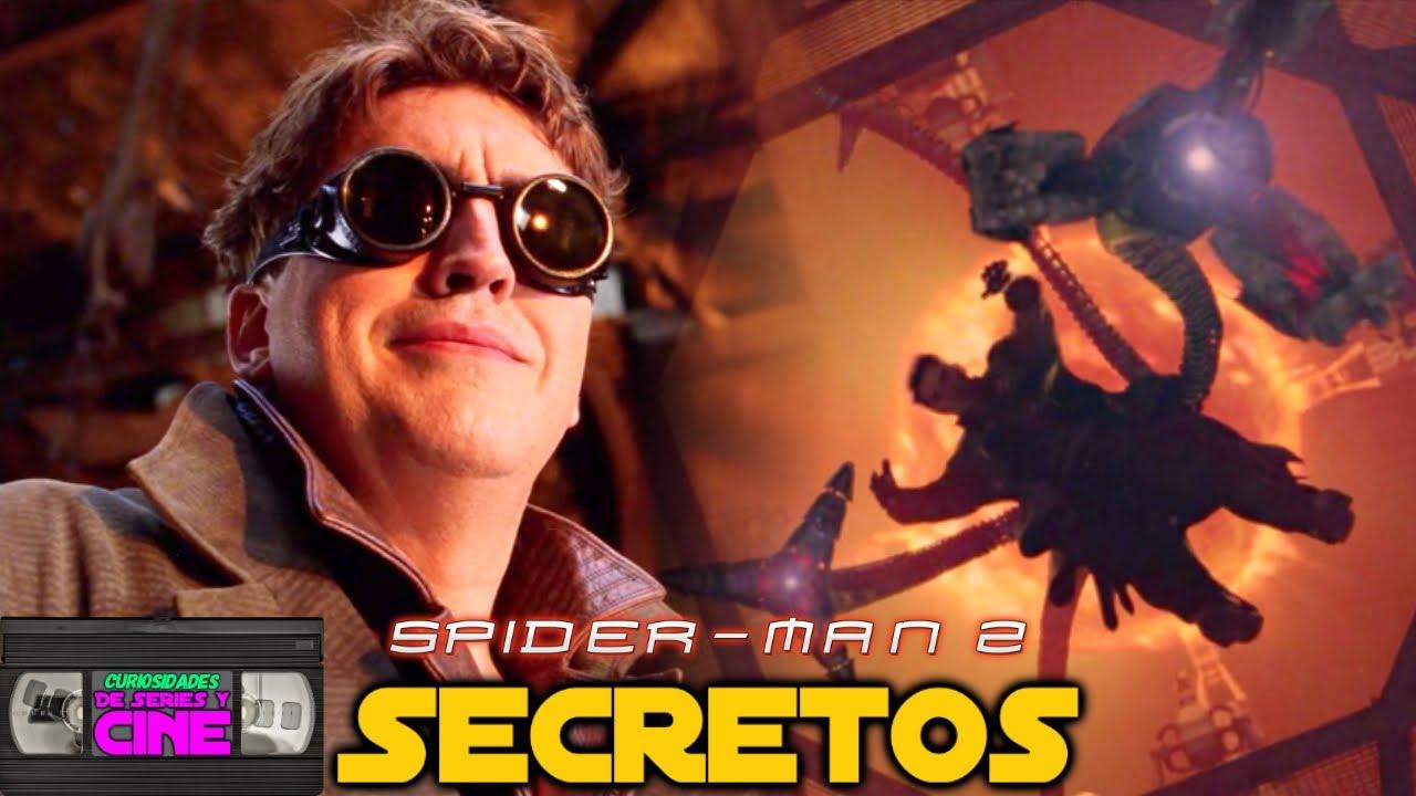 Spiderman 2 (2004) -Análisis película completa, Secretos, Easter eggs