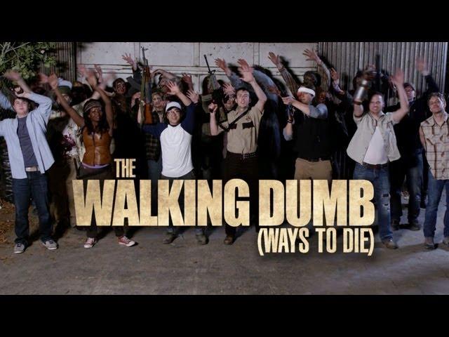 The Walking Dead + Dumb Ways to Die Parody - The Walking Dumb