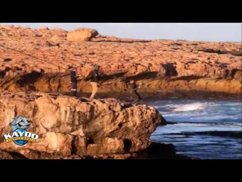 Extreme Land Based Fishing Dirk Hartog Island Part 1