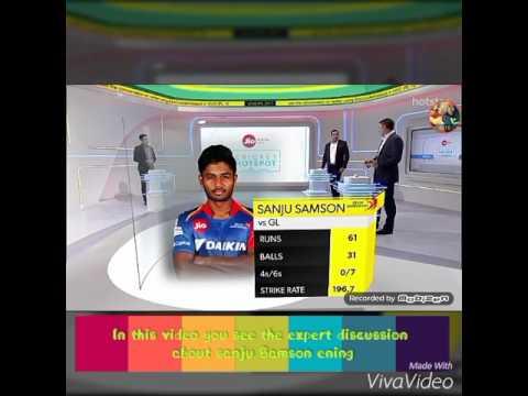 Sanju Samson ening expert review