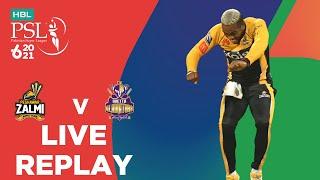 LIVE REPLAY – Peshawar Zalmi vs Quetta Gladiators | 2nd Innings | Match 19 | HBL PSL 6