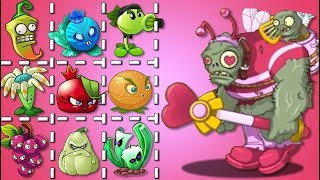 Plants Vs Zombies 2 Zombistein San Valentin Vs Todas Las Plantas