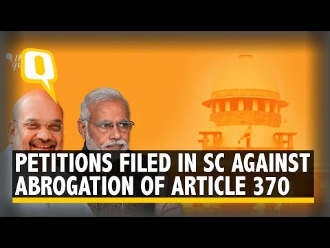 How Modi Govt's 'Mission Kashmir' is Being Challenged in SC   The Quint