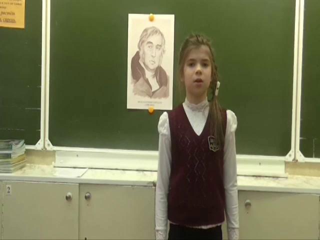 Изображение предпросмотра прочтения – АннаИльина читает произведение «Ворона и Лисица» И.А.Крылова
