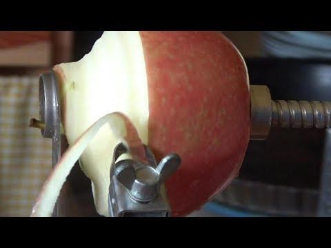 Apfelkringel gewünscht? Unser neuer Apfelschäler, -entkerner, -schneider macht's
