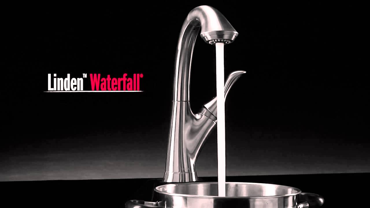 Delta Linden™ Kitchen Faucet Collection - eFaucets com - YouTube