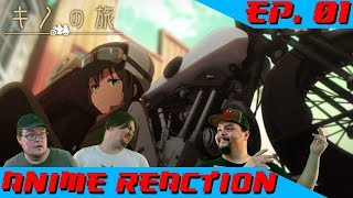 Anime Reaction: Kino no Tabi: The Beautiful World (2017) Ep. 01