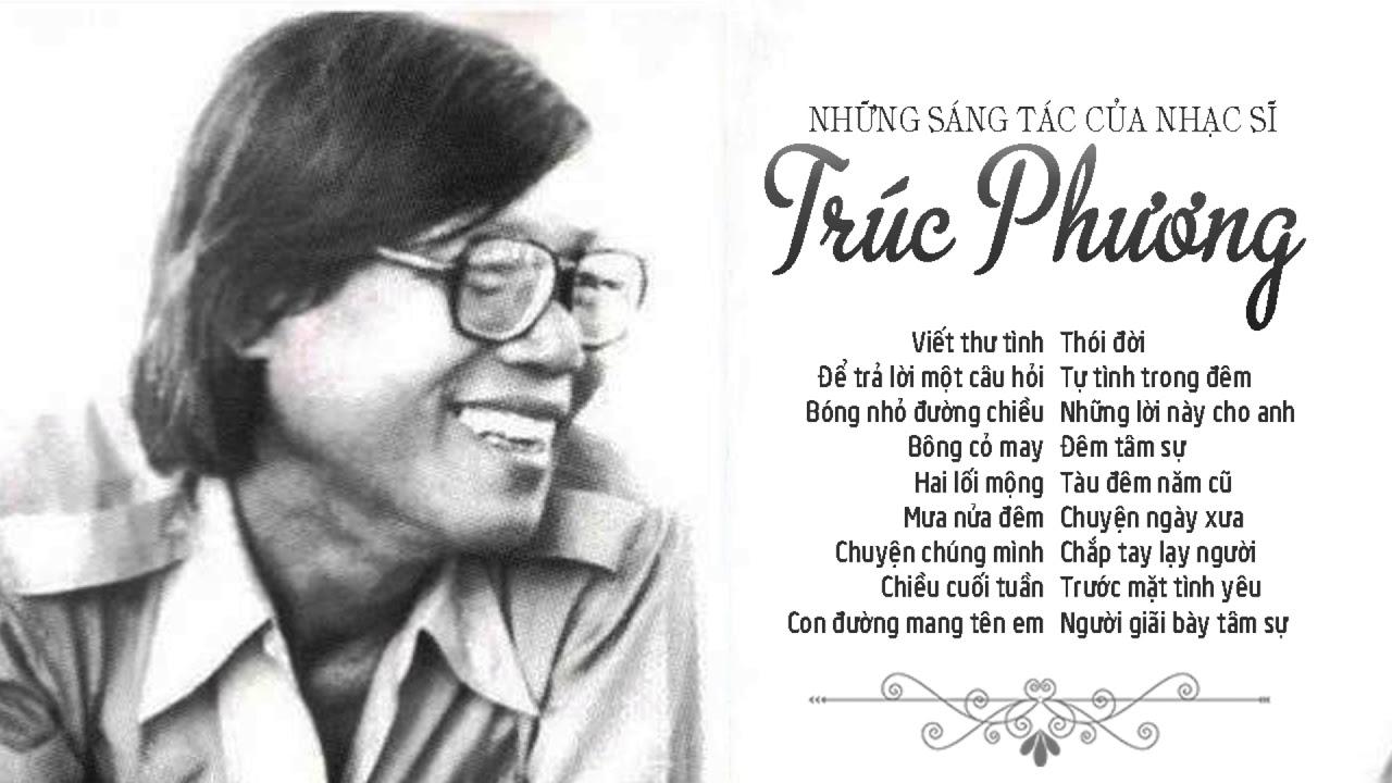 Trúc Phương ông hoàng dòng nhạc BOLERO và những sáng tác hay nhất để đời