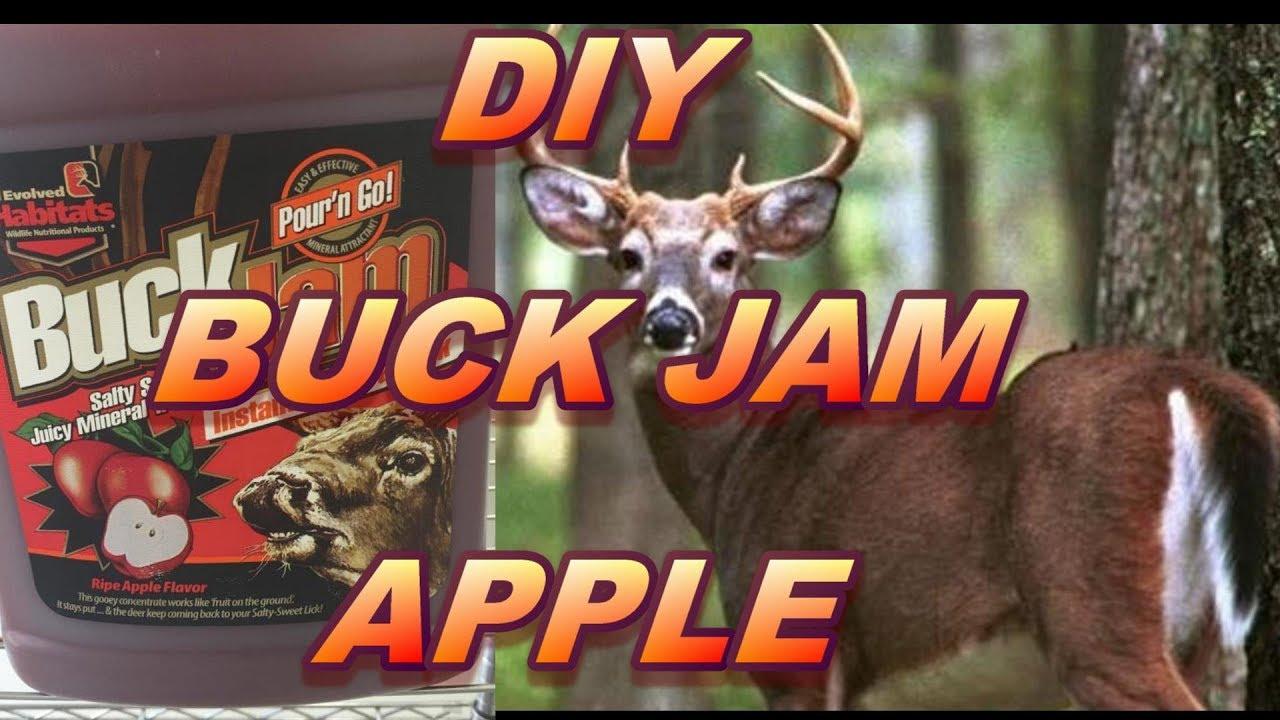 DIY Apple Buck Jam Deer Attractant that