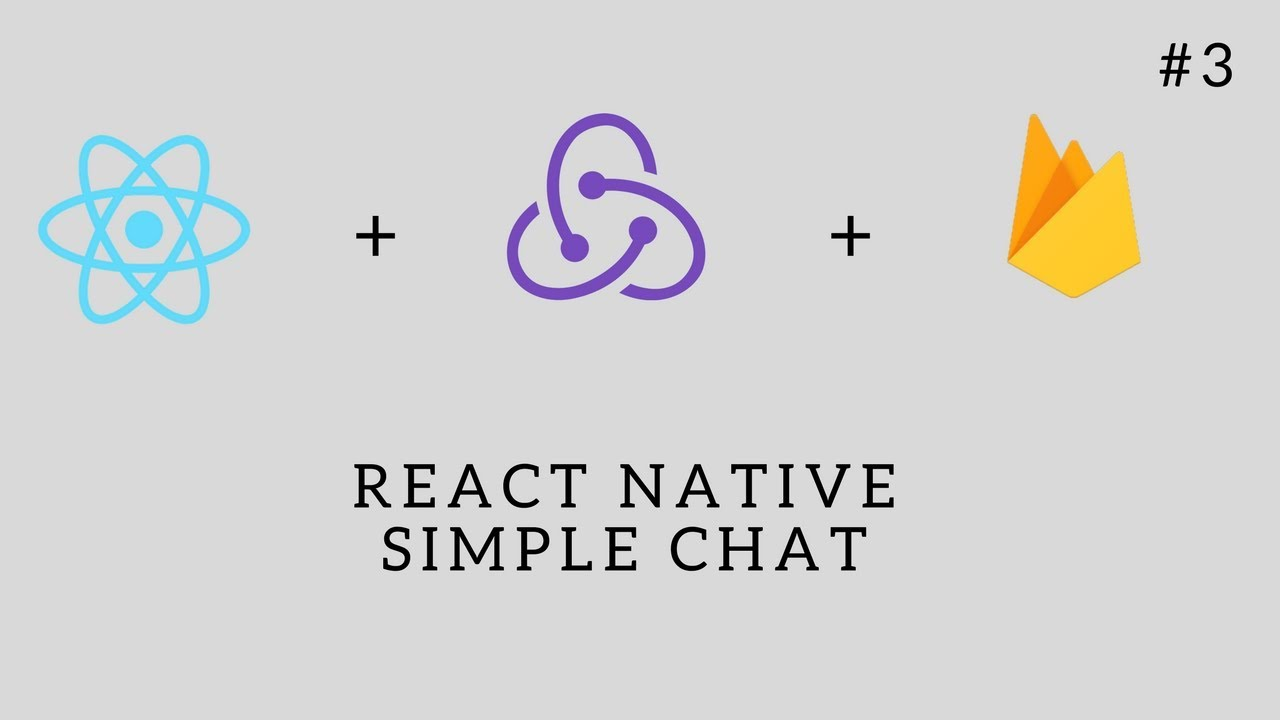 React Native Simple Chat - Part 3 - Designing The Chat Component - Arabic  [بالعربي]