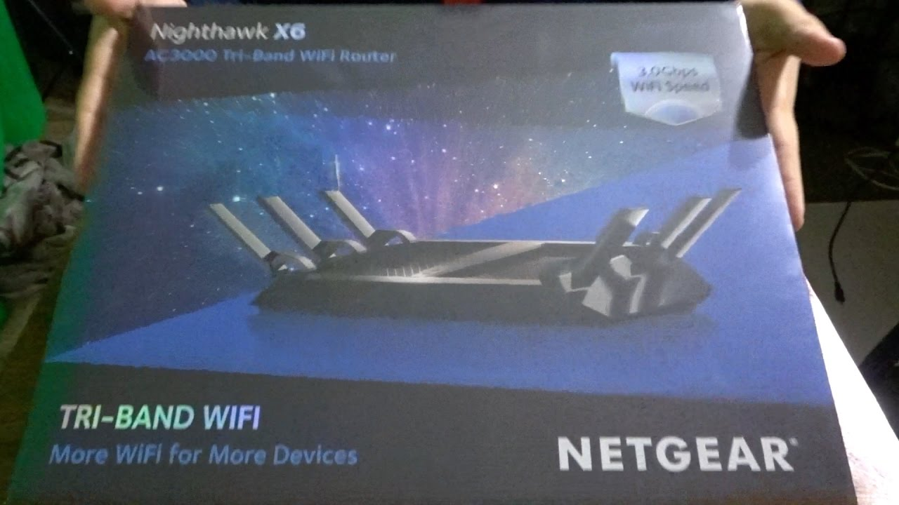 NETGEAR AC3000 ROUTER UNBOXING AND SETUP !!!