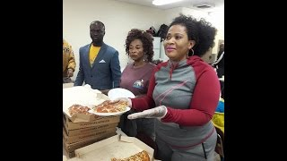 Kyeiwaa Joins Deliverance FM to feed the Homeless in USA