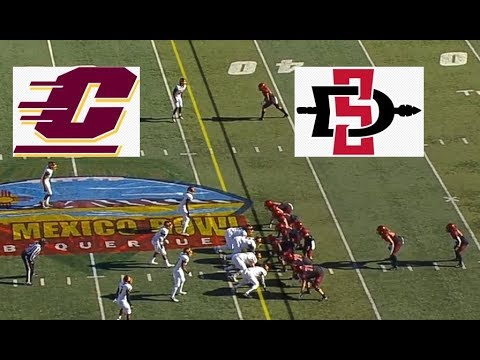 Central Michigan Vs San Diego State Football Bowl Game 12 21 2019