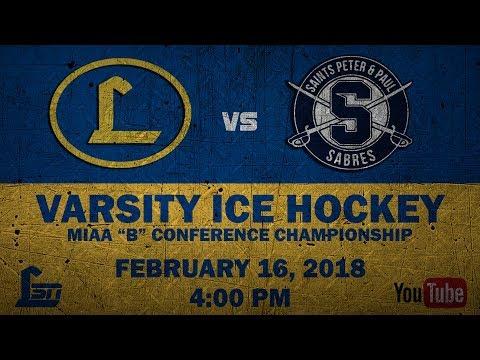 """2018 MIAA """"B"""" Conference Ice Hockey Championship"""