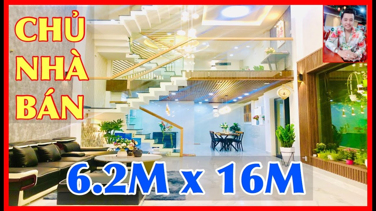 Siêu Mẫu Vũ Hoàng Việt Bán nhà Gò Vấp #288  ❤️ 6.2M X 16M Siêu Phẩm nhà phố kiến trúc đẹp 1 Gò Vấp