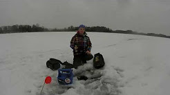 ice fishing in St.Francis MN