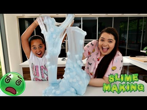 Karina Garcia Shows Tiana How To Make The Best Slime Ever!