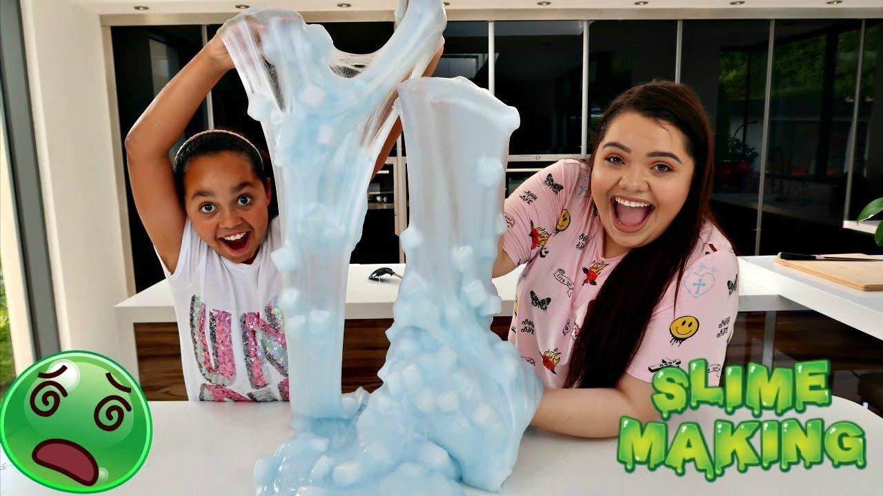 Karina Garcia Shows Tiana How To Make The Best Slime Ever