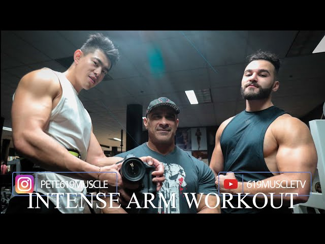 619 MUSCLE Training Series: Arm Blasting w/ Volume and Angles!