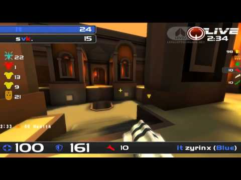 ClanBase Nations Cup 2012 - Italy vs Slovakia - Quake Live TDM - MAP 1