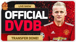 OFFICIAL! VAN DE BEEK Signs for Man Utd! Man Utd Transfer News