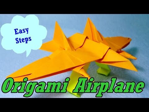 How To Make Paper Airplane | Origami Airplane | Easy To Follow Steps