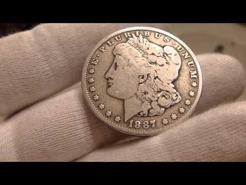 1887 O Morgan Silver Dollar Coin Review