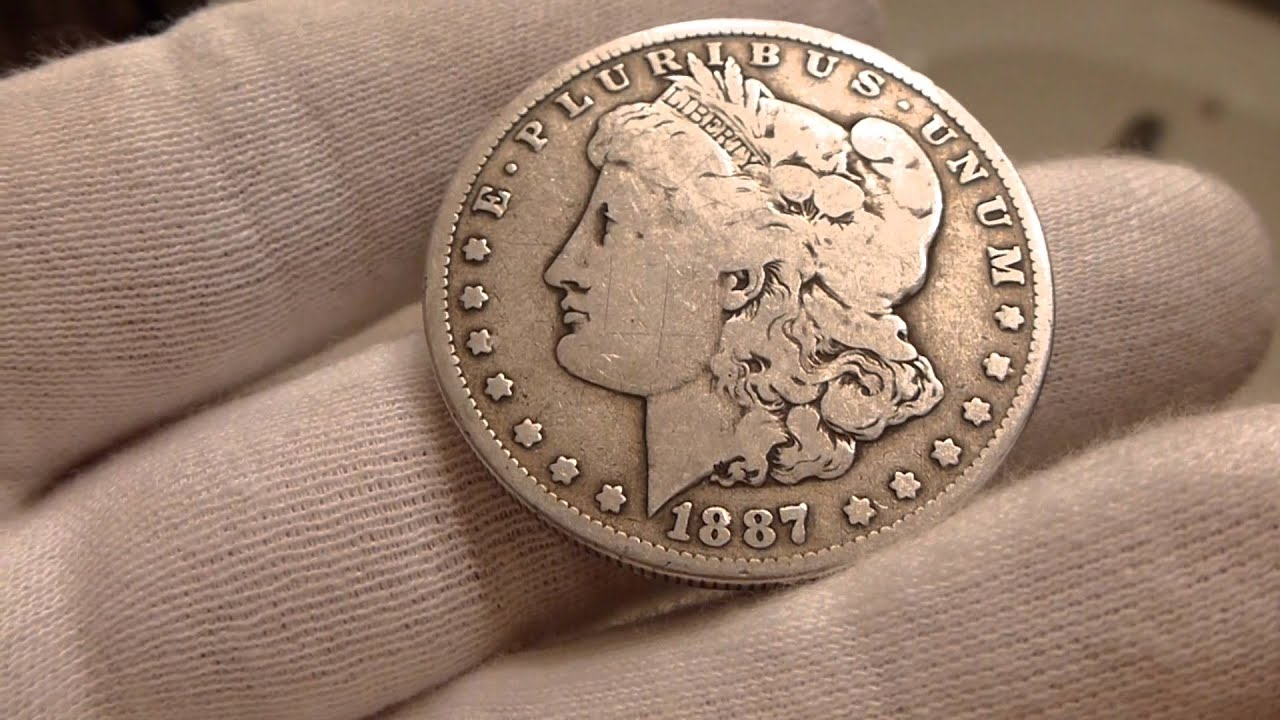 1887 O Morgan Silver Dollar Coin Review Youtube