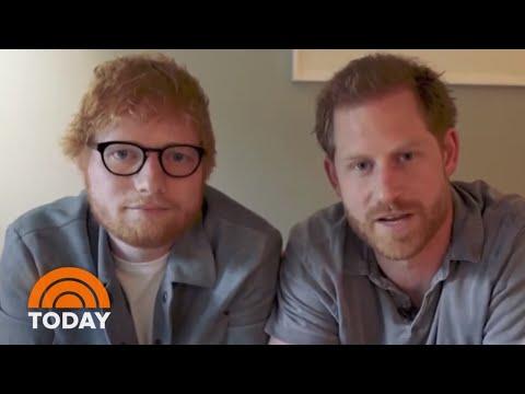 Prince Harry Teams Up With Ed Sheeran For Mental Health Awareness   TODAY thumbnail