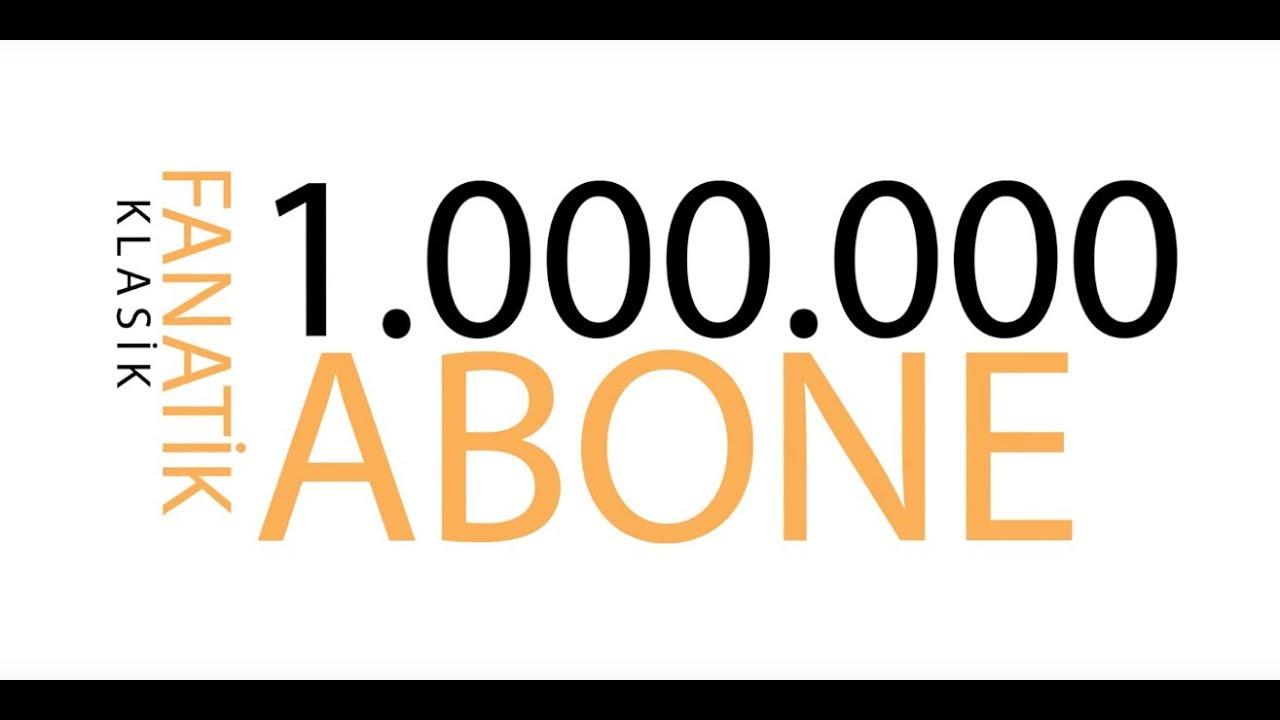 1.000.000 (Milyon) Aboneyi Geçtik !