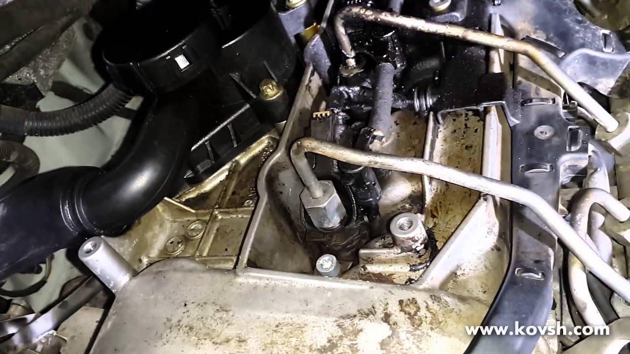 как работает форсунка на 611 двигатель мерседес
