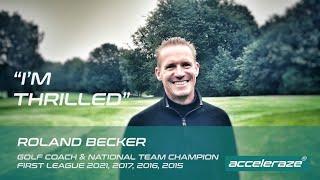 4-time German Champion Roland Becker about Acceleraze Tandem Coaching
