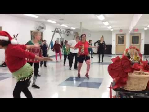 Zumba Gold Christmas Party 4