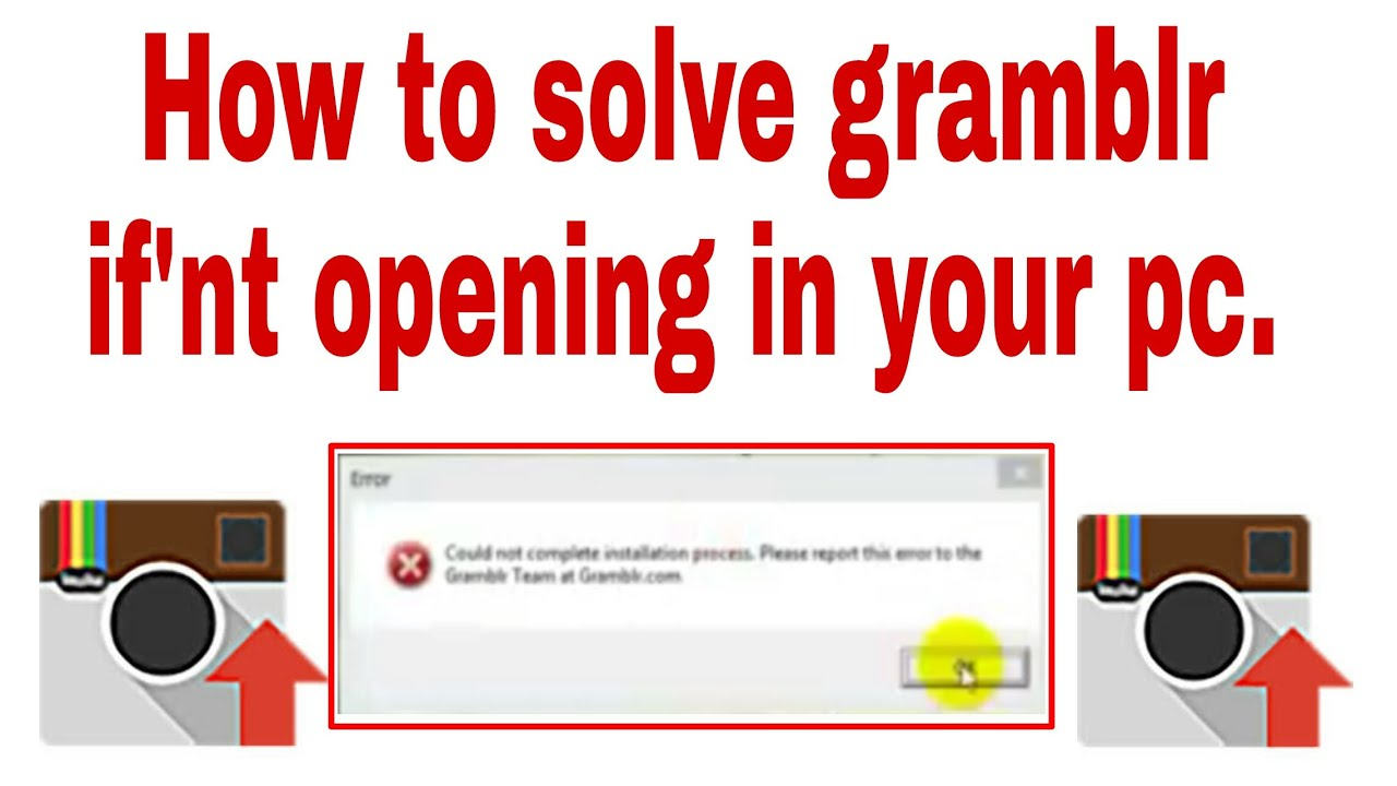 how to solve gramblr if not working    100% working