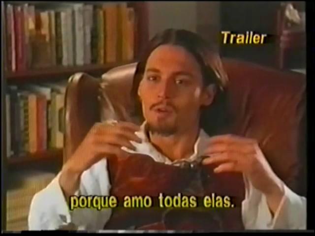 """Trailer de Cinema de """"Don Juan DeMarco"""""""