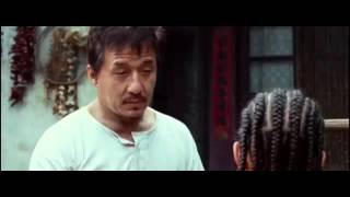 The Karate Kid 2010   First Trainning Scene with Mr  Han mp4