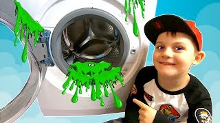 Pretend Play with Giant Slime | Timko Surprises Mommy