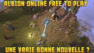Albion Online en 2019 - Passage du MMORPG en Free To Play - Bonne ou mauvaise nouvelle ?