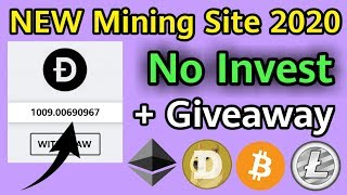JANUARY 2020 New Launched Bitcoin Free Mining Site - Earn 0.0005 Bitcoin Daily Without Investment