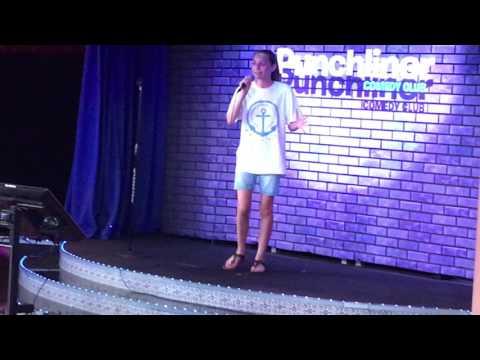 """""""Let it Go"""" Frozen performed by Jazzy Wright Carnival Splendor Karaoke June 2016"""